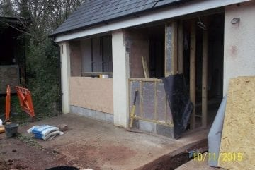 Garage Conversion in Exeter
