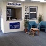 reception refurbishment