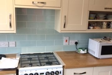 finished kitchen refurbishment