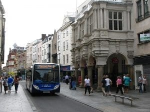 Exeter Guildhall Stagecoach